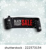 black friday sale background... | Shutterstock .eps vector #222573154