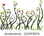 vector hearts    Shutterstock .eps vector #222595876