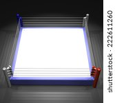 the boxing ring made from 3dcg | Shutterstock . vector #222611260