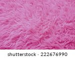 Close Up Of A Pink Fur