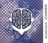 modern business brain concepts...
