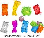 Gummy Bear Set  With Gummy Bea...