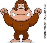 a cartoon illustration of an... | Shutterstock .eps vector #222685513