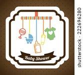 baby graphic design   vector... | Shutterstock .eps vector #222696280