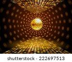 disco ball background | Shutterstock .eps vector #222697513