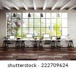 loft studio  | Shutterstock . vector #222709624