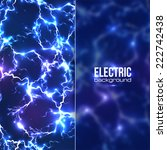 Vector Electric Background Wit...