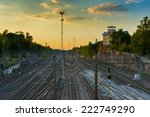 Railway Tracks In Helsinki ...