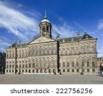 The Royal Palace On Dam Square...