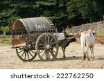Tourist taxi in Mingun, Mandalay region, Myanmar