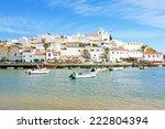 ferragudo in the algarve... | Shutterstock . vector #222804394