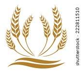 wheat | Shutterstock .eps vector #222811510