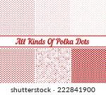 polka dot round background | Shutterstock .eps vector #222841900