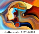 colors of the mind series.... | Shutterstock . vector #222849004