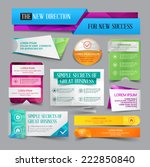 set of website banner. vector... | Shutterstock .eps vector #222850840