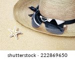 view of nice   sea star ... | Shutterstock . vector #222869650