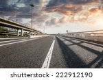 road and sky in airport | Shutterstock . vector #222912190