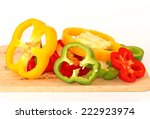 Organic Paprika Peppers With...