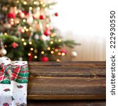 christmas table background | Shutterstock . vector #222930550