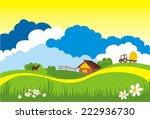 vector illustration of cow... | Shutterstock .eps vector #222936730
