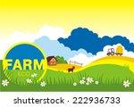 vector illustration of cow...   Shutterstock .eps vector #222936733