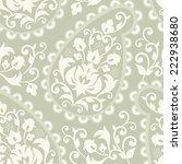 seamless vintage background.... | Shutterstock .eps vector #222938680