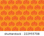 halloween pumpkin background | Shutterstock .eps vector #222955708