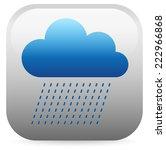 raincloud | Shutterstock .eps vector #222966868