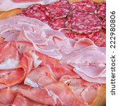 cold cuts  | Shutterstock . vector #222980806