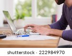 close up low angle view of a... | Shutterstock . vector #222984970