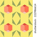 abstract geometric background | Shutterstock . vector #222986614