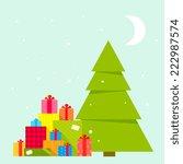 vector illustration of the... | Shutterstock .eps vector #222987574