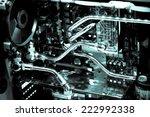 inside the computer case modify | Shutterstock . vector #222992338