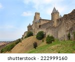 the walls around medieval city... | Shutterstock . vector #222999160