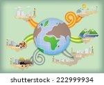 world energy | Shutterstock .eps vector #222999934