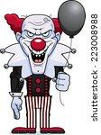 a cartoon illustration of an... | Shutterstock .eps vector #223008988