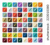 flat design  carrots | Shutterstock .eps vector #223010380