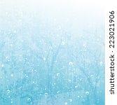 vector winter background | Shutterstock .eps vector #223021906