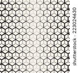 seamless geometric pattern.... | Shutterstock .eps vector #223024630