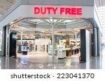 beijing   august 30   duty free ... | Shutterstock . vector #223041370