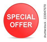 special offer web icon  | Shutterstock . vector #223047070