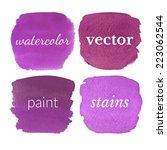 beautiful watercolor design... | Shutterstock .eps vector #223062544