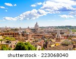 Panoramic View Of Rome And St....