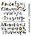 alphabet | Shutterstock .eps vector #223100980