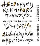alphabet | Shutterstock .eps vector #223100998