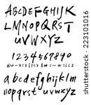 alphabet | Shutterstock .eps vector #223101016