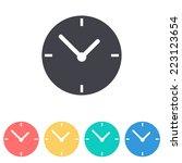 clock icon icon | Shutterstock .eps vector #223123654