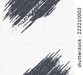 grunge pattern background.... | Shutterstock .eps vector #223210003