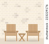 Wooden Garden Chairs With Table ...
