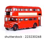 london bus isolated with... | Shutterstock . vector #223230268